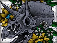 Triceratops Demo Illo