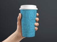 Doublethink Coffee Cup