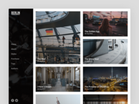 Berlin Theme articles blog article layout blog layout berlin ghost theme ghost theme