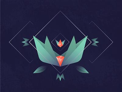 Lóthrí vector royal queen noise lothri loth lines king gradients gems gem