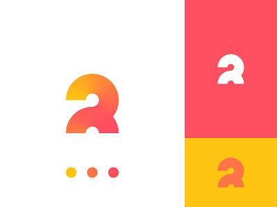 R2 Logo autumn fall yellow red orange vector branding affinitydesigner design logo 2 logo 2 r r logo atluh