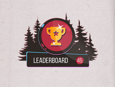 Leaderboard game art userinterface casual games gameui