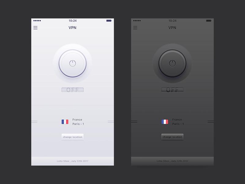Vpn App Concept By Loho Shee Dribbble Dribbble