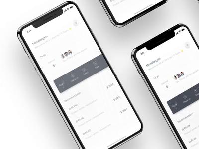 HR-X 2019 Interaction hr-x design animation clean interaction 3d white ui app motion