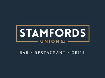 Stamfords Initial Brand yorkshire steak logo branding brand grill bar restaurant