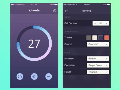 Countr App idea islam ios simple app counter