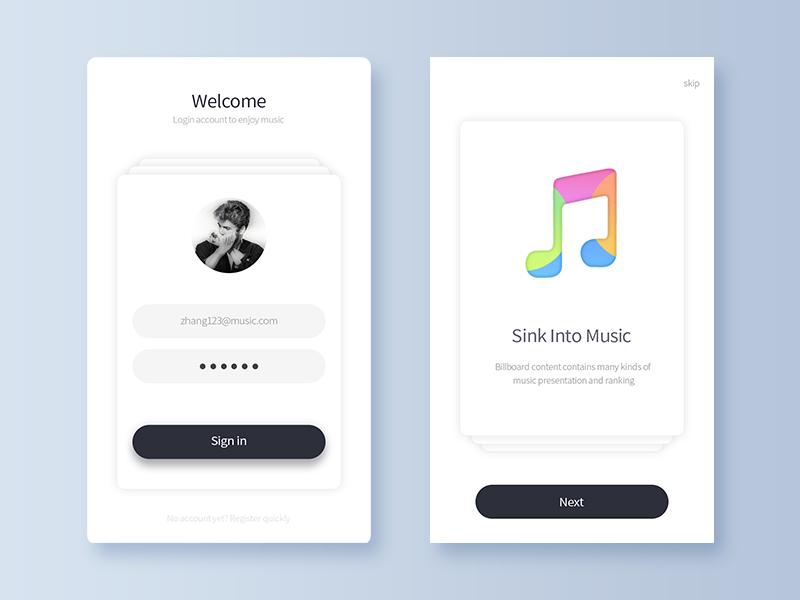 Billboard - Music App 4 by Tao  on Dribbble