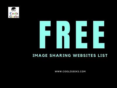 Image Sharing Websites for SEO