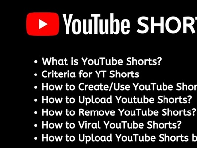 Everything You Need to Know About YouTube Shorts shorts youtube shorts