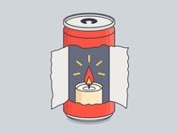 Nuka Cola Candle