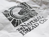 Natural Bread Logo Print