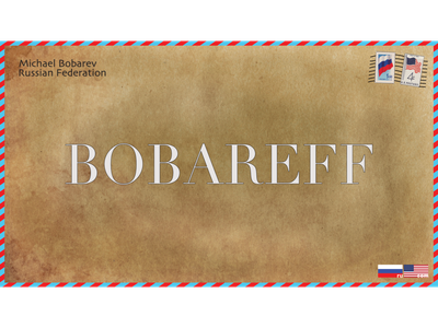 Bobareff domain attractive design affinitydesigner design domain branding brand