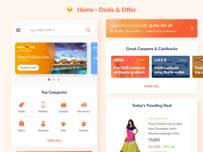 Home - Deals & Offer App
