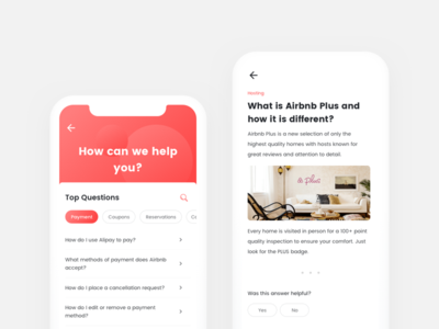 FAQs design ux ui kit android app ios answer question faq
