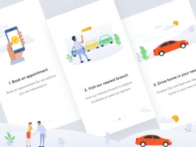 Splash Screens app ios used car splash cars online car selling appointment