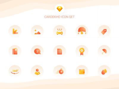 Cardekho - Icon Set