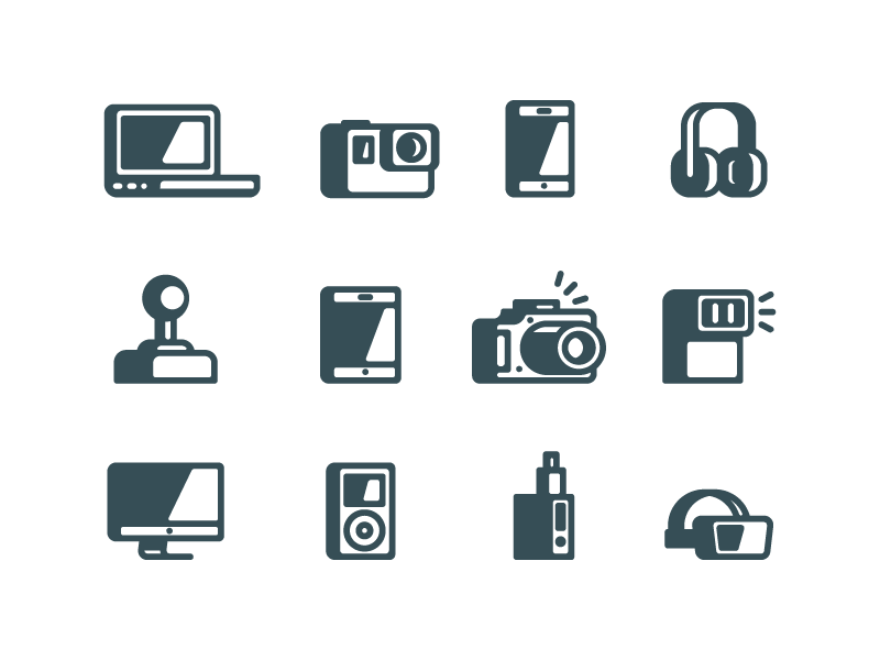 Gadgets icons 01