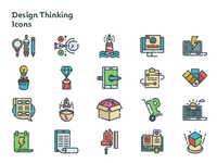 Design Thinking Icons