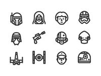 Star Wars icons 1