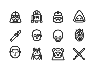 Star Wars icons 3