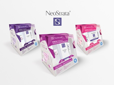NeoStrata - Packaging box purple promo box packaging