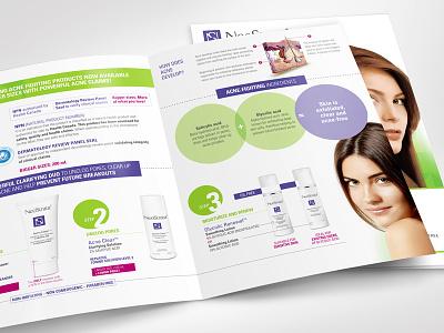 NeoStrata - Brochure / Sell Sheet green sell sheet brochure design brochure