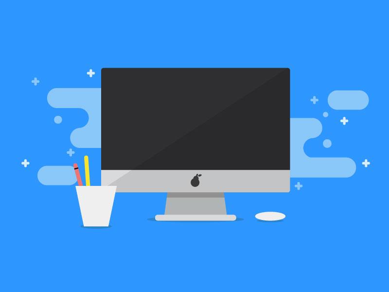 Computer Icon By Patrick Aere Dribbble Dribbble