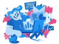 Business presentation designer