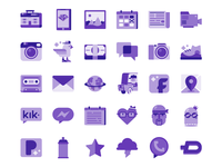 Personalisation icons