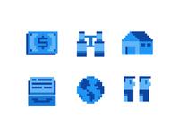 16px pixel icons