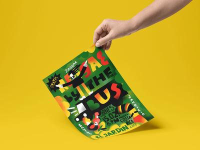 Reggae Night Poster Design