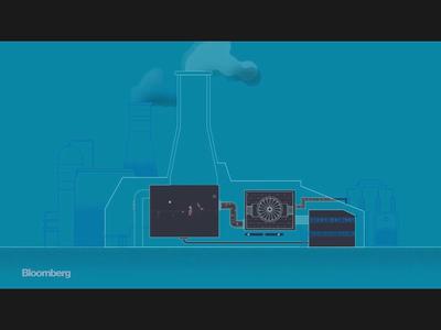 Gas Plant smoke design motion art bloomberg climate change co2 emissions editorial storyboarding illustration motion motiongraphics gasplant