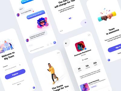 5 UI Days Resume - Challenge chat design card app clean ui minimalist minimal mobile app mobile challenges uxdesign uidesign ux 10ddc victorcardero ui challenge