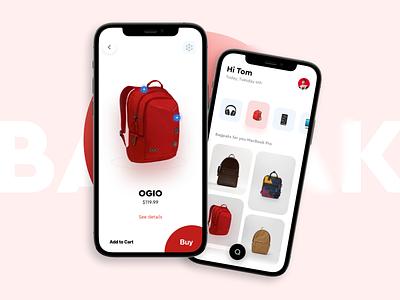Accessories App for Macbook victorcardero trend card app e-comerce ui design bagpak web design product design popular shot popular store ecomerce mobile ux ui