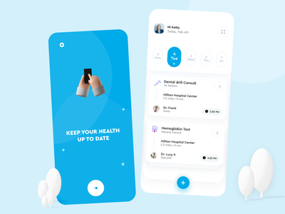 MedisafeApp UI Redesign Concept uidesign calendar health app product design popular shot popular onboarding health card mobile ux ui app design