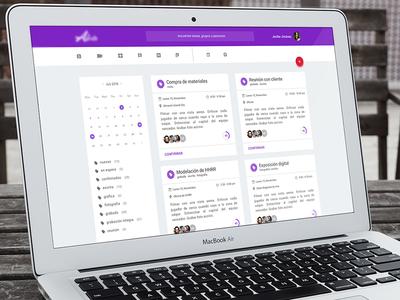 Task App Prototype to Audiovisual Production Departament