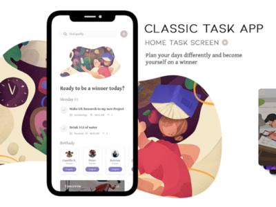 Task Home Screen