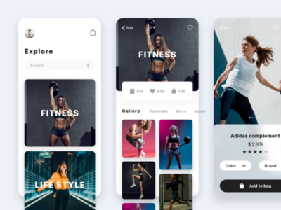 Working on fitness workflows app