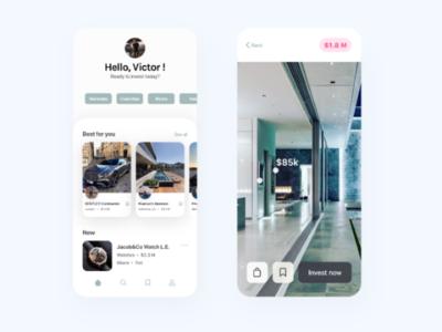 Billionaire lifestyle app