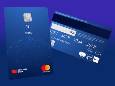 Vertical Credit Card