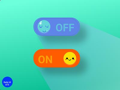 Daily UI 015 #Off switch vector ui illustration design uiux dailyuichallenge dailyui