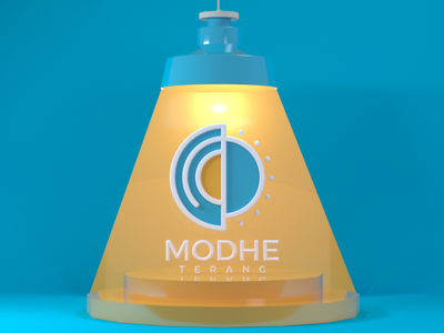 modhe terang illustration vector 3d modeling 3d design logo