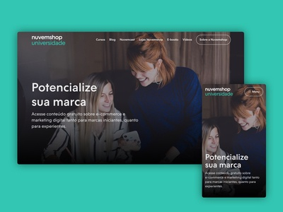 Universidade do E-commerce - redesign