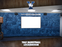 Yale University Basketball Locker Rooms Wall Art