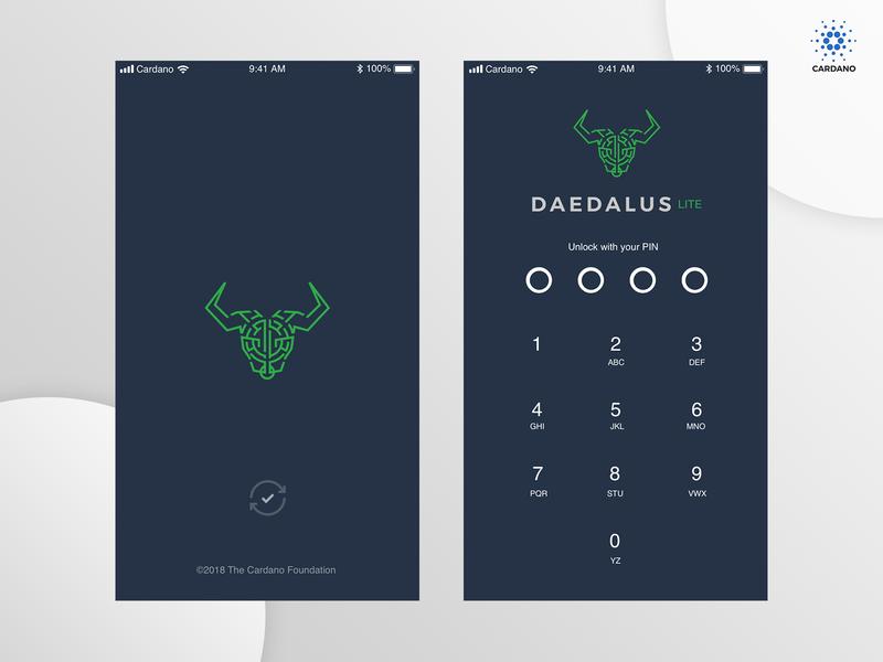 Cardano | Daedalus Staking Mobile App