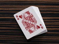 Traditional Queen of Hearts