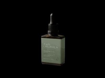 Rain Organica Branding beauty watercolor illustration branding and identity packaging logo branding