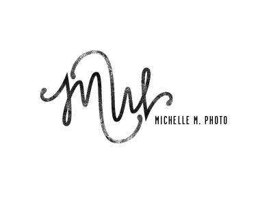 Michelle M. logo hand drawn