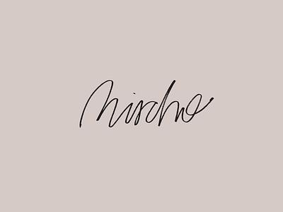 Mischo Lettering marker concept lettering