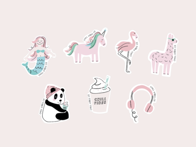 Chill Vibes - Stickers